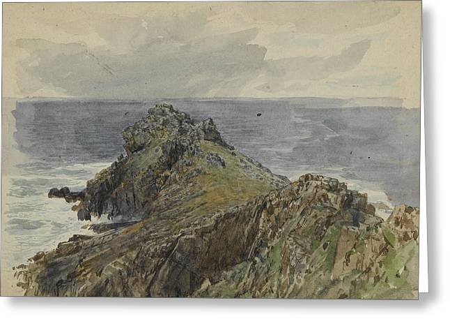 English Coastal Scenery Greeting Card by MotionAge Designs