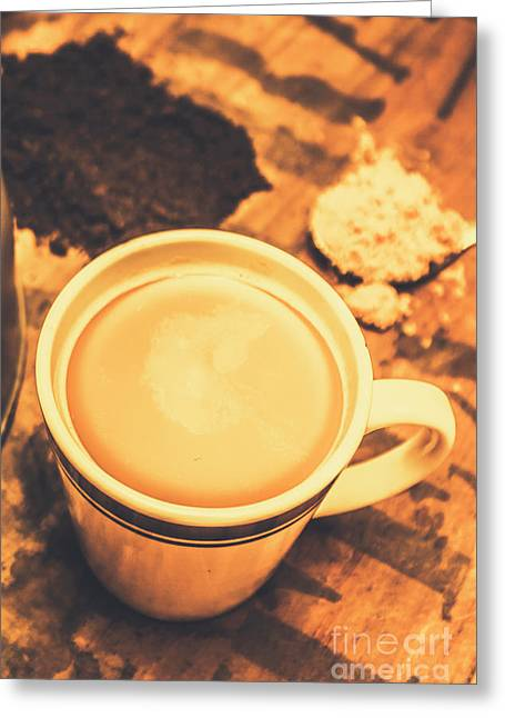 English Tea Breakfast Greeting Card by Jorgo Photography - Wall Art Gallery
