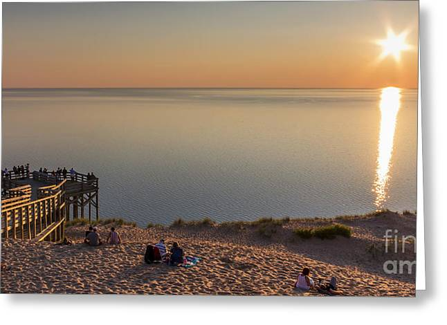 Scenic Drive Greeting Cards - Enjoying the View Panorama Greeting Card by Twenty Two North Photography
