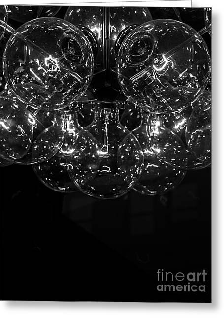 Stainless Steel Greeting Cards - Enlightened Greeting Card by James Aiken