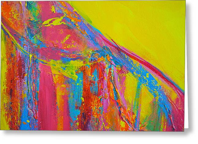 Energetic Art Greeting Cards - Entangled No. 5 - Fragmented 1 Greeting Card by Patricia Awapara