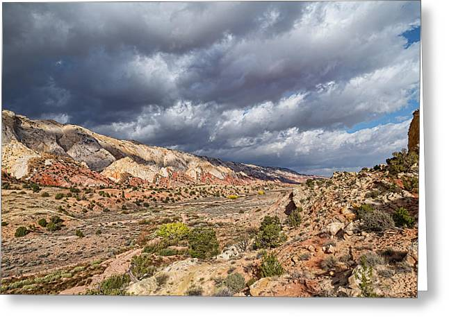 Southern Utah Greeting Cards - Entering the Desert Portal Greeting Card by Kathleen Bishop