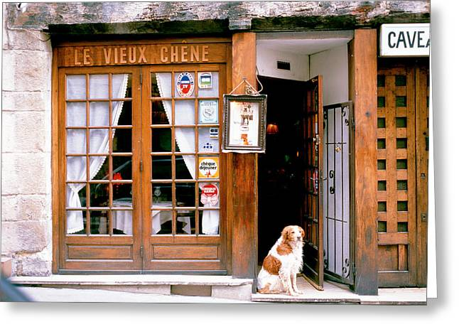 Entrance Door Greeting Cards - Entrance Paris France Greeting Card by Panoramic Images