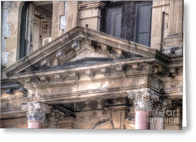Weird New Jersey Greeting Cards - Entrance to Greystone - Close up Greeting Card by Jeffrey Miklush