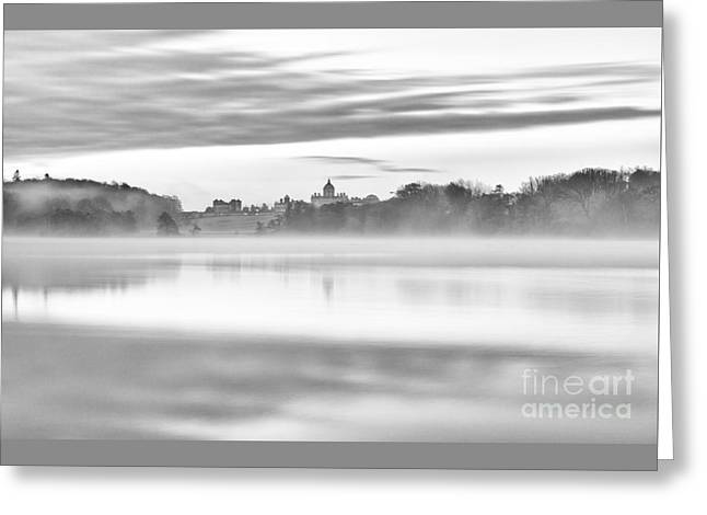 Transient Greeting Cards - Ephemeral Dawn At Castle Howard UK Greeting Card by John Potter