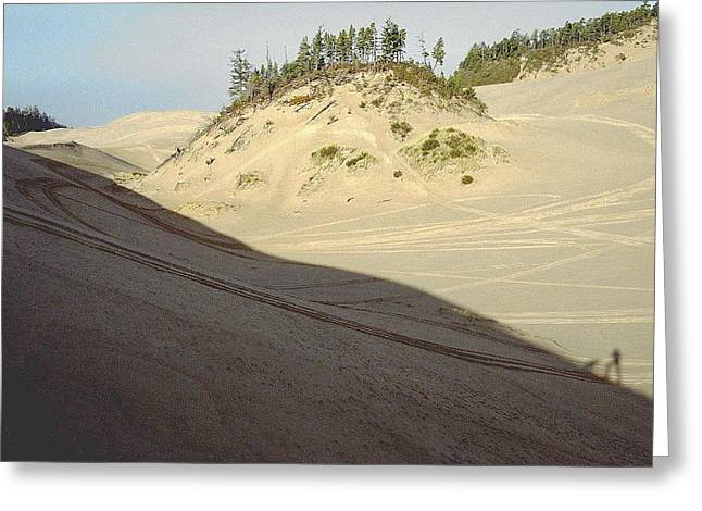 Oregon Dunes National Recreation Area Greeting Cards - Ephemeral Greeting Card by Eike Kistenmacher