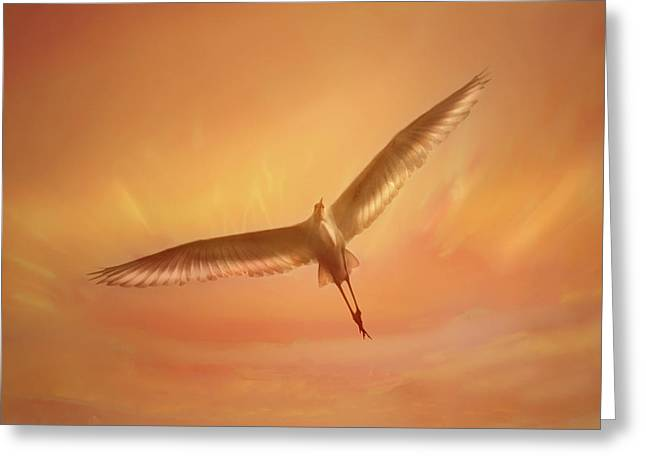 Cullen Greeting Cards - Epiphany Greeting Card by Marion Cullen