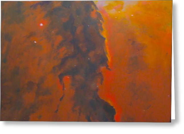 Epsilon Eridani a stellar Spire in Eagle Nebula Greeting Card by Jim Ellis