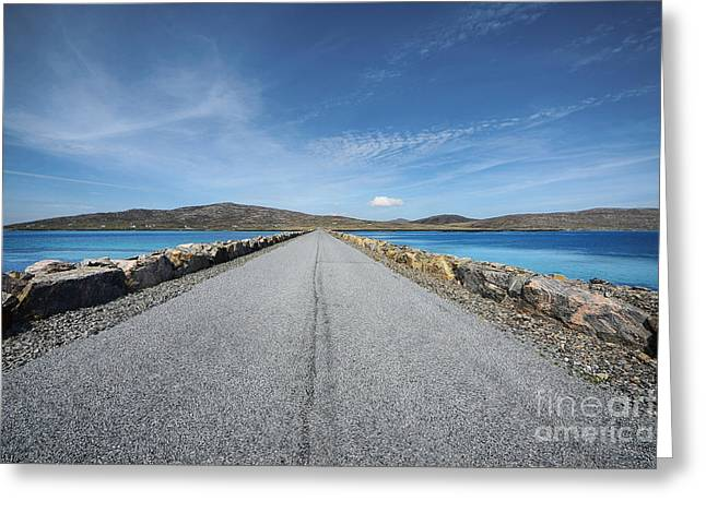 Eriskay To South Uist Greeting Card by Stephen Smith