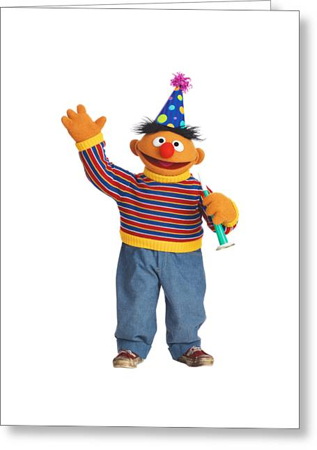 Ernie Greeting Card by Sesame Street