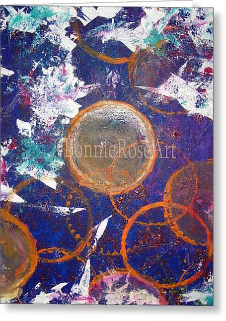 Bonnie Rose Art Greeting Cards - Escamo Kiss Greeting Card by Bonnie Rose Parent