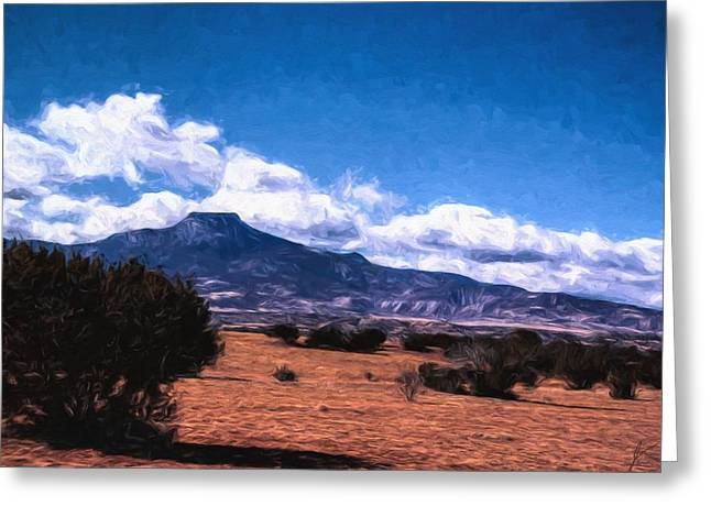 Table Mesa Greeting Cards - Escape Greeting Card by Jim Buchanan