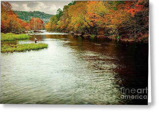 Escape To Beaver's Bend Greeting Card by Tamyra Ayles