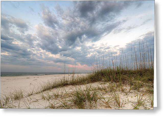 On The Beach Greeting Cards - Escape to Lost Key Greeting Card by Gary Oliver