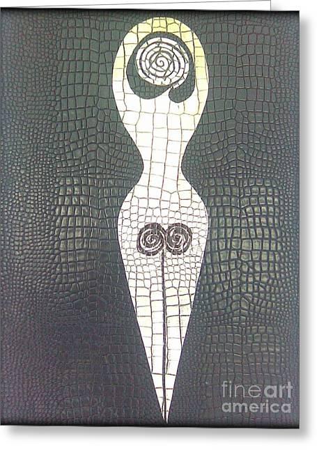 Esoteric Greeting Card by Eva Maria Nova