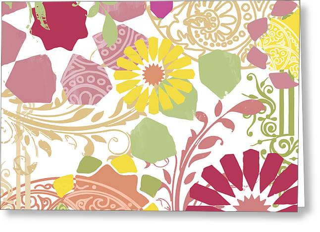 Ethnic Greeting Cards - Esperanza II Greeting Card by Mindy Sommers