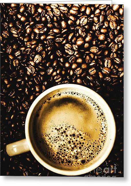 Espresso Roast Greeting Card by Jorgo Photography - Wall Art Gallery