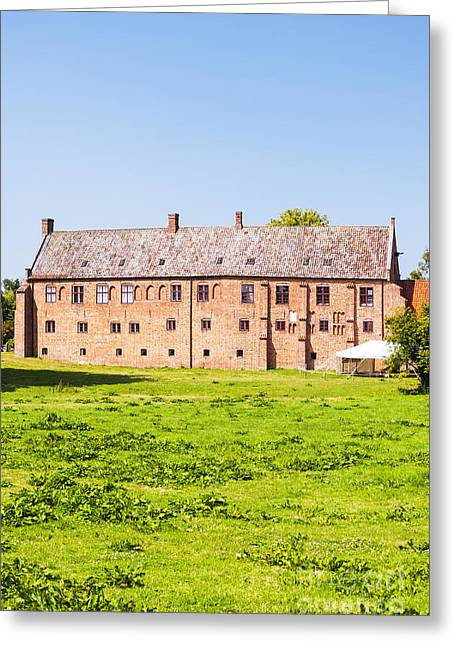 Kloster Greeting Cards - Esrum Kloster in Denmark Greeting Card by Antony McAulay