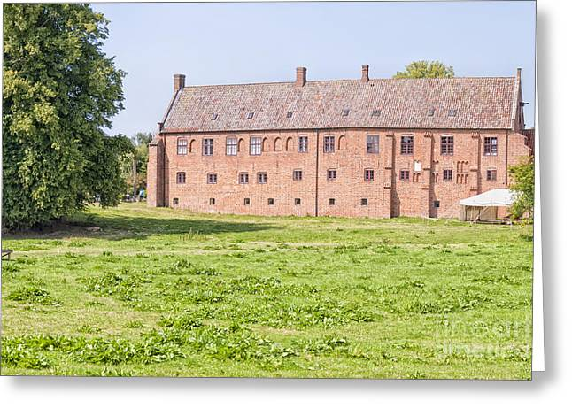 Kloster Greeting Cards - Esrum Kloster in Hillerod Greeting Card by Antony McAulay
