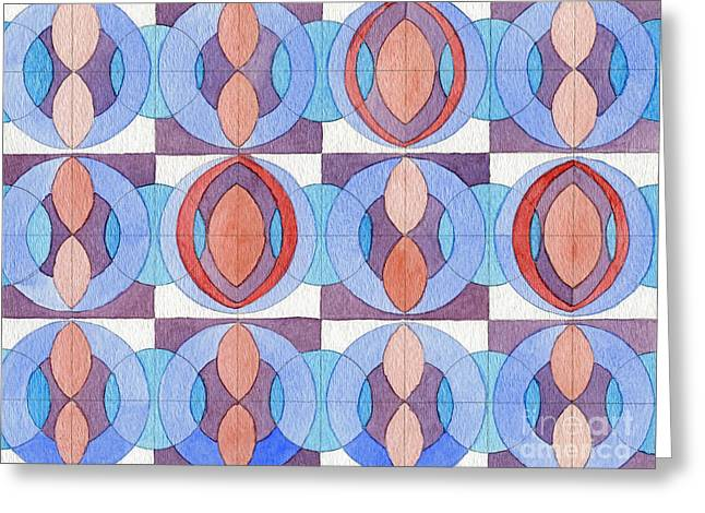 Essence Of Harmony Greeting Card by Norma Appleton