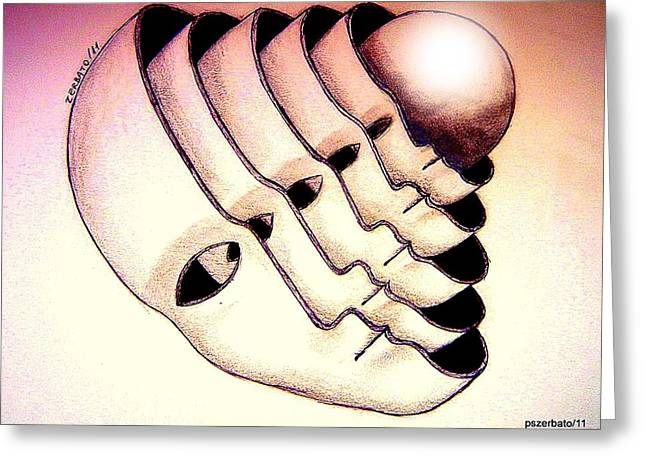 Metaphysics Greeting Cards - Essence Greeting Card by Paulo Zerbato