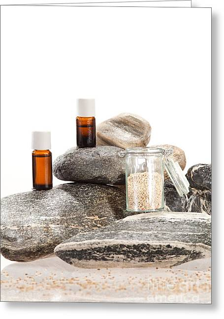 Spice Greeting Cards - Essential oil from anise Greeting Card by Wolfgang Steiner