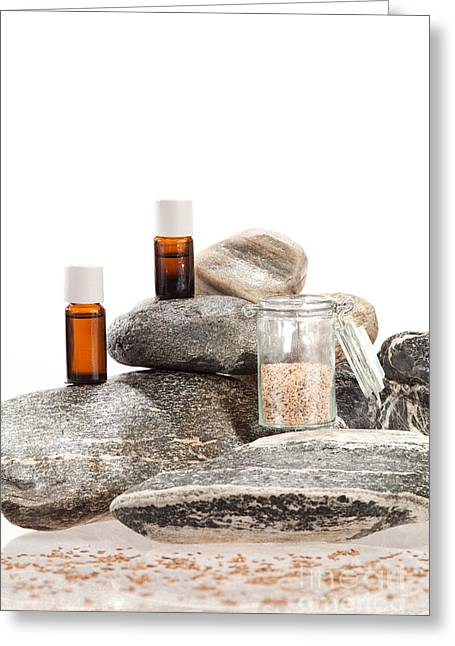 Essential Oil From Caraway Greeting Card by Wolfgang Steiner