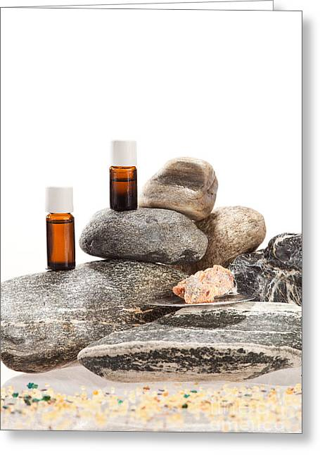 Essential Oil From Frankincense Greeting Card by Wolfgang Steiner