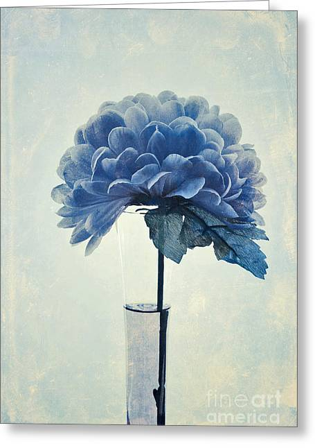 Floral Still Life Greeting Cards - Estillo - 05b2vt03 Greeting Card by Variance Collections