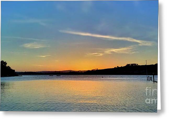 River View Greeting Cards - Estuary view Greeting Card by Sebastien Coell