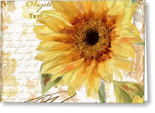 Annuals Greeting Cards - Ete II Greeting Card by Mindy Sommers