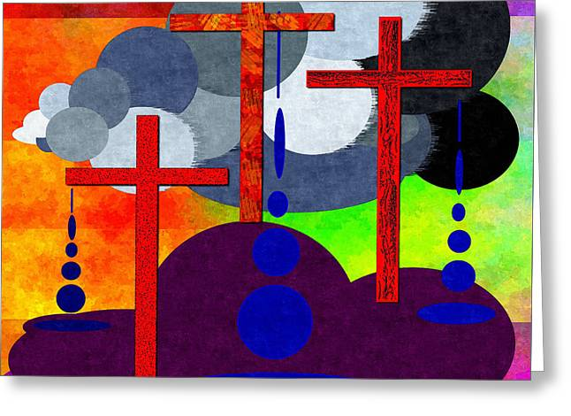 Eternal Consequences Greeting Card by Glenn McCarthy Art and Photography