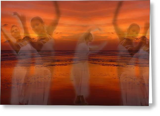 Ballet Dancers Greeting Cards - Eternal Dance Greeting Card by Jeff Breiman