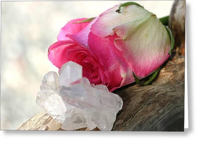 Pastell Greeting Cards - Eternal Love Greeting Card by Dagmar Ceki
