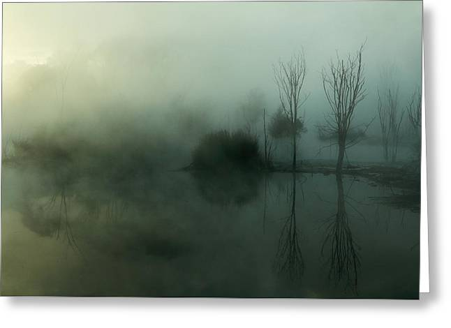Ghostly Greeting Cards - Ethereal Greeting Card by Nicholas Blackwell