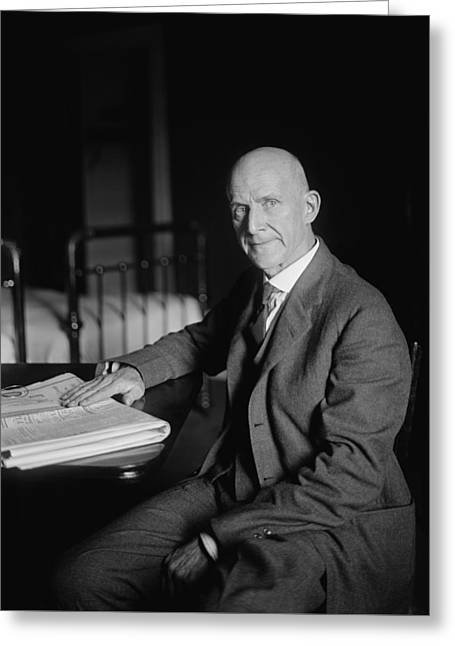 Eugene Debs Greeting Card by War Is Hell Store