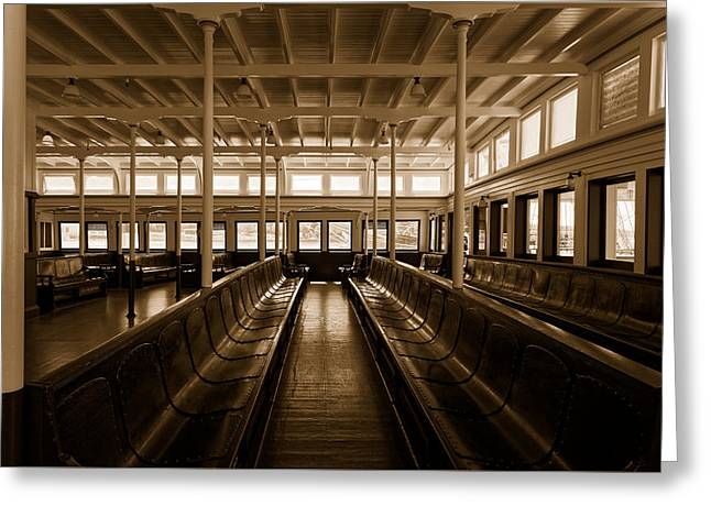 Sausalito Greeting Cards - Eureka Ferry Greeting Card by Scott Hill