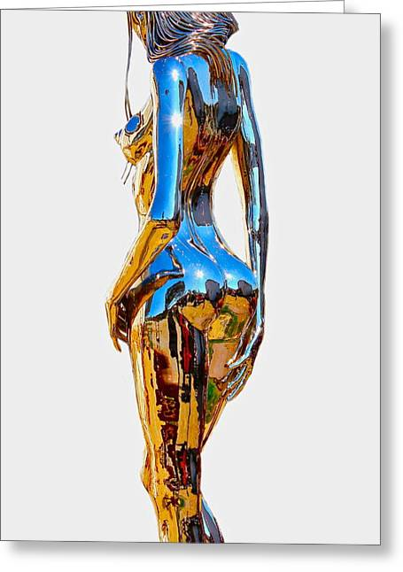 New Sculptures Greeting Cards - Eve figure IV Greeting Card by Greg Coffelt