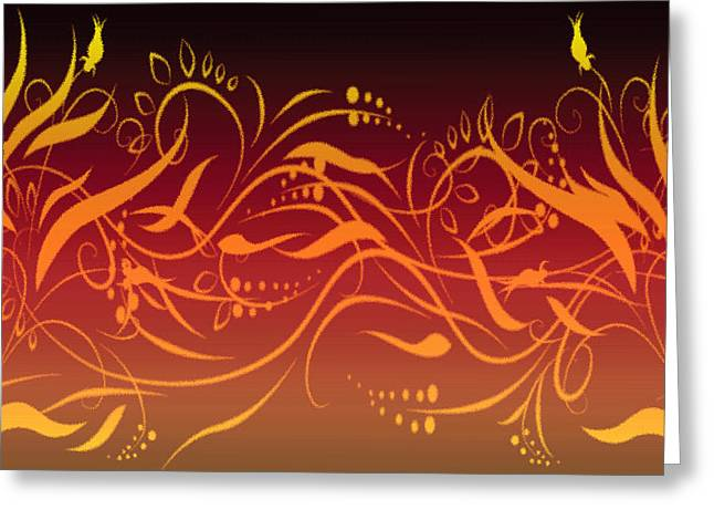 Digital Greeting Cards Greeting Cards - Eve style 1 Greeting Card by Evelyn Patrick