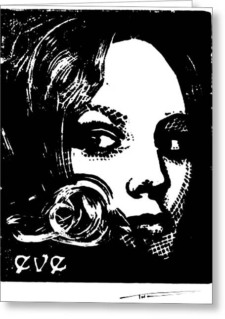 Eve Reliefs Greeting Cards - Eve Greeting Card by Thomas Campbell