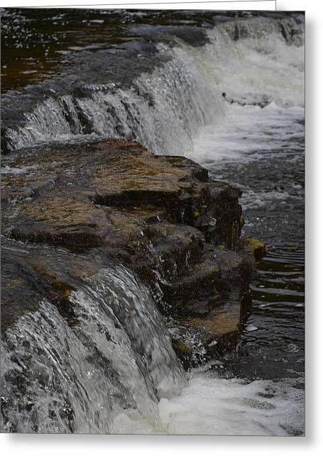 Nature Greeting Cards - Even Flow Greeting Card by Richard Andrews