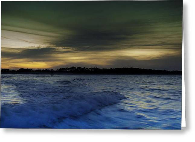 Unset Greeting Cards - Evening Approaches  Greeting Card by Debra Forand