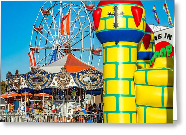 Evening Carnival 2 Greeting Card by Steve Harrington