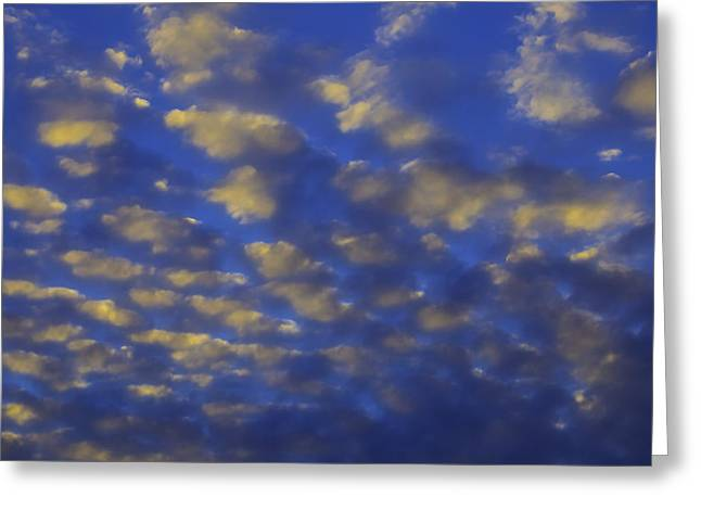 Evening Clouds Greeting Card by Garry Gay