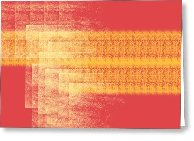Incite Greeting Cards - Evening Greeting Card by Diretorio do Design