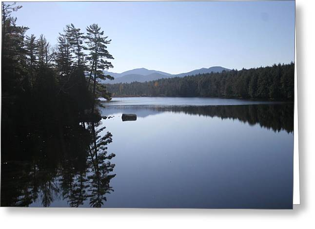 Self Discovery Photographs Greeting Cards - Evening on the Lake Greeting Card by Kate  Leikin