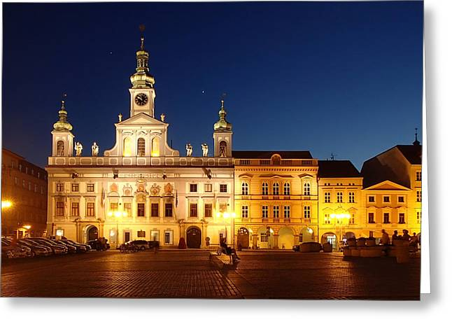 Budejovice Greeting Cards - Evening Reflections Greeting Card by Mountain Dreams