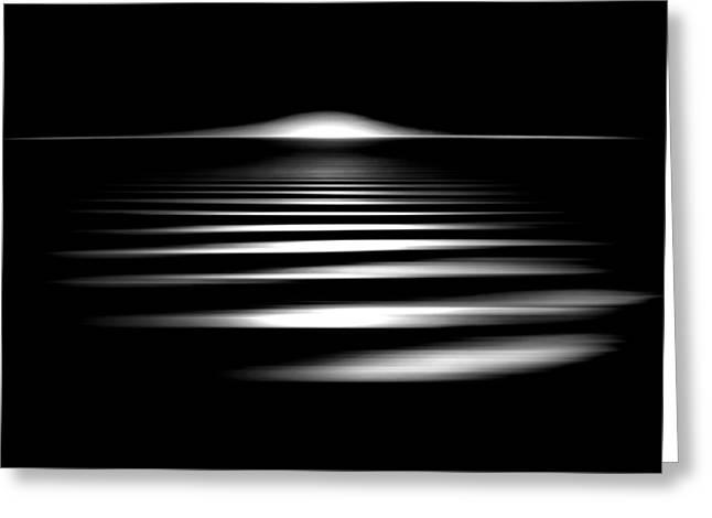 Event Horizon Greeting Card by Az Jackson