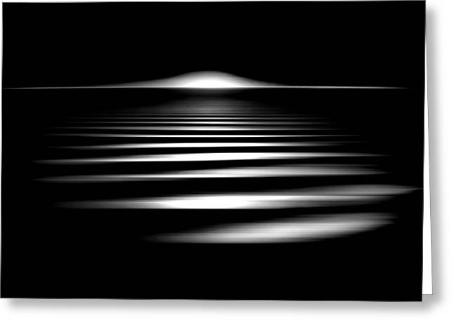 Abstracts Art Photographs Greeting Cards - Event Horizon Greeting Card by Az Jackson