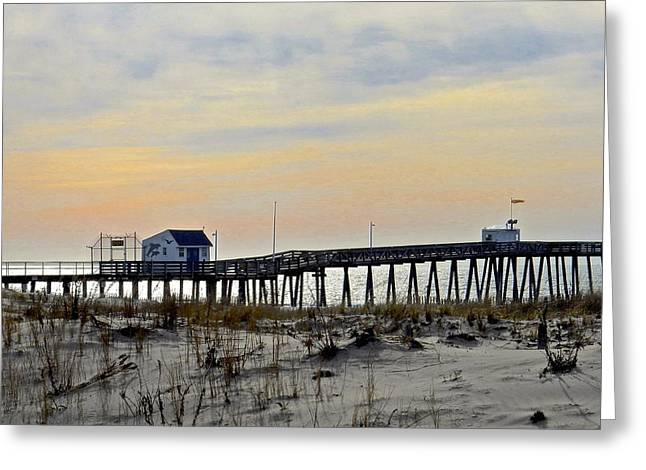 My Ocean Greeting Cards - Eventide Greeting Card by My Lens and Eye   - Judy Mullan -